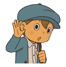 Professor Layton sticker #9380