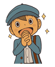 Professor Layton sticker #9384