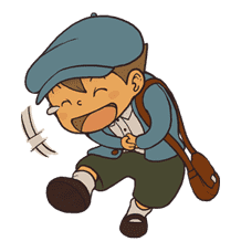 Professor Layton sticker #9386