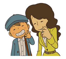 Professor Layton sticker #9393