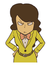 Professor Layton sticker #9397