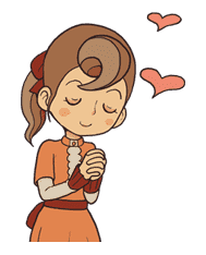 Professor Layton sticker #9400
