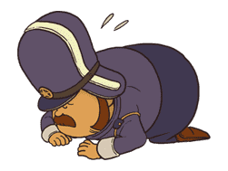 Professor Layton sticker #9401