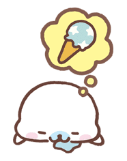 Mamegoma sticker #10253
