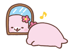 Mamegoma sticker #10258