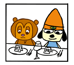 Parappa The Rapper sticker #10668
