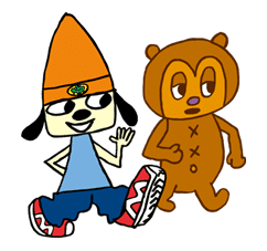 Parappa The Rapper sticker #10678