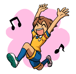 INAZUMA ELEVEN sticker #14201