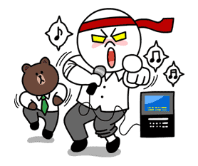 Moon: Salaryman Special sticker #3010