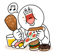 Moon's Dieting Special sticker #7951