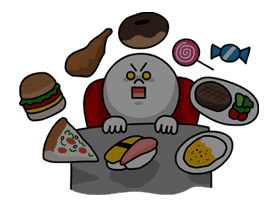 Moon's Dieting Special sticker #7965