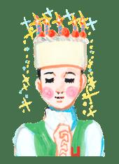 Keiko Sootome's Greetings sticker #9454