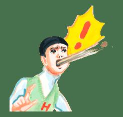 Keiko Sootome's Greetings sticker #9455