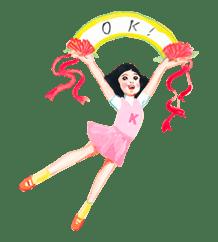 Keiko Sootome's Greetings sticker #9458