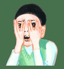 Keiko Sootome's Greetings sticker #9459