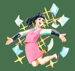 Keiko Sootome's Greetings sticker #9462