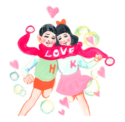 Keiko Sootome's Greetings sticker #9470