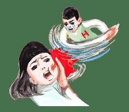 Keiko Sootome's Greetings sticker #9472