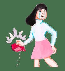 Keiko Sootome's Greetings sticker #9475
