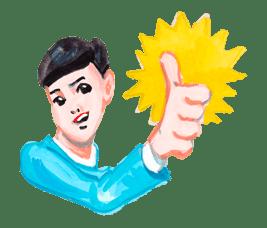 Keiko Sootome's Greetings sticker #9483