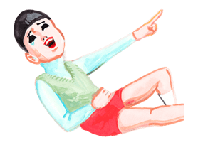 Keiko Sootome's Greetings sticker #9484
