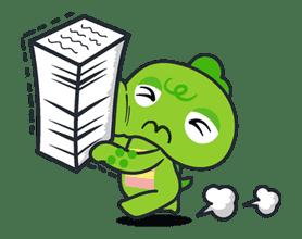 Gachapin & Mukku 2 sticker #11875
