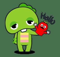 Gachapin & Mukku 2 sticker #11876