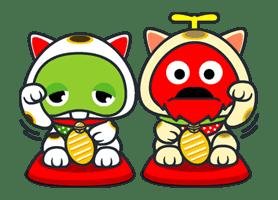 Gachapin & Mukku 2 sticker #11900