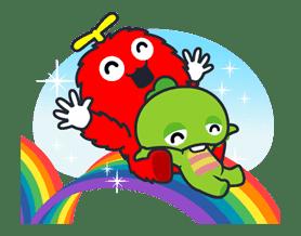 Gachapin & Mukku 2 sticker #11901