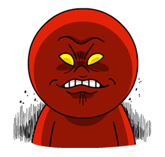 Moon: Mad Angry Edition sticker #5503