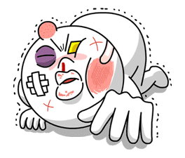 Moon: Mad Angry Edition sticker #5527
