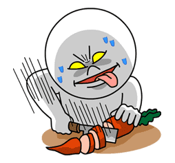 Moon: Mad Angry Edition sticker #5528