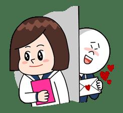 Moon: High School Memories sticker #5705