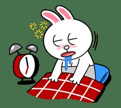 Cony's Happy Work Life sticker #4441