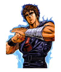 Fist of the North Star sticker #5951
