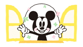 Mickey Mouse sticker #5622