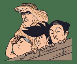 Ike! Inachu Takkyu-bu sticker #7671