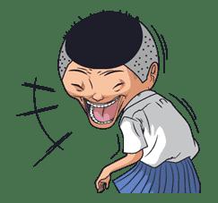 Ike! Inachu Takkyu-bu sticker #7676