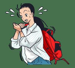 Ike! Inachu Takkyu-bu sticker #7682
