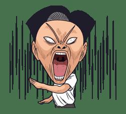 Ike! Inachu Takkyu-bu sticker #7683