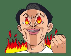 Ike! Inachu Takkyu-bu sticker #7692
