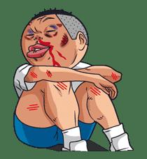 Ike! Inachu Takkyu-bu sticker #7696