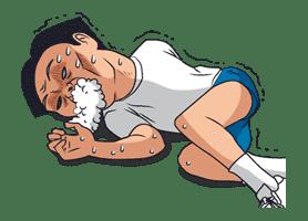 Ike! Inachu Takkyu-bu sticker #7702