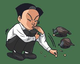 Ike! Inachu Takkyu-bu sticker #7704
