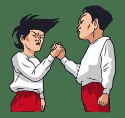 Ike! Inachu Takkyu-bu sticker #7705