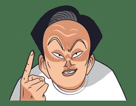 Ike! Inachu Takkyu-bu sticker #7710