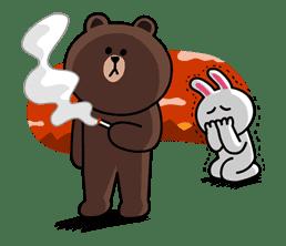Brown & Cony's Secret Date! sticker #4016