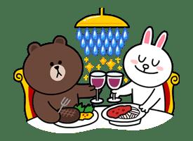 Brown & Cony's Secret Date! sticker #4025