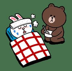 Brown & Cony's Secret Date! sticker #4032