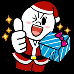 LINE明星(Happy Xmas篇)